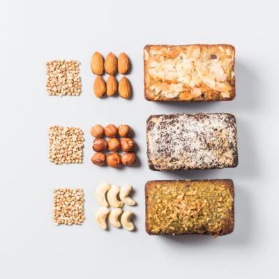 Сет из трех десертных позиций в мини-формате