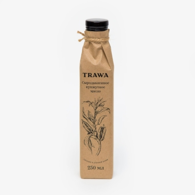 TRAWA Масло сыродавленное кунжутное, 250мл