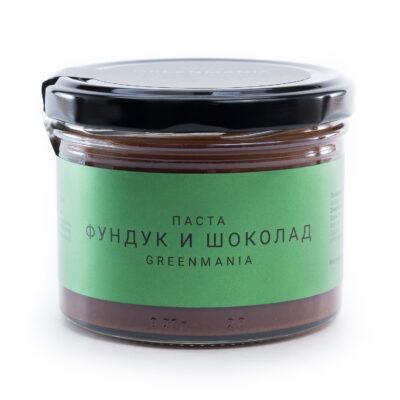 Паста GreenMania «Фундук и шоколад», 200гр